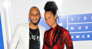 Alicia & Swizz at this year's VMAs
